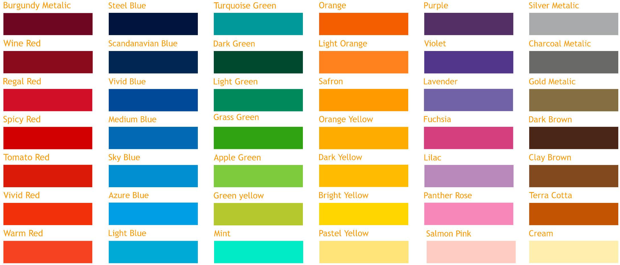 M Amp R Signs Digital Solid Colour
